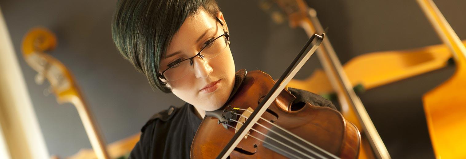 Violin Student