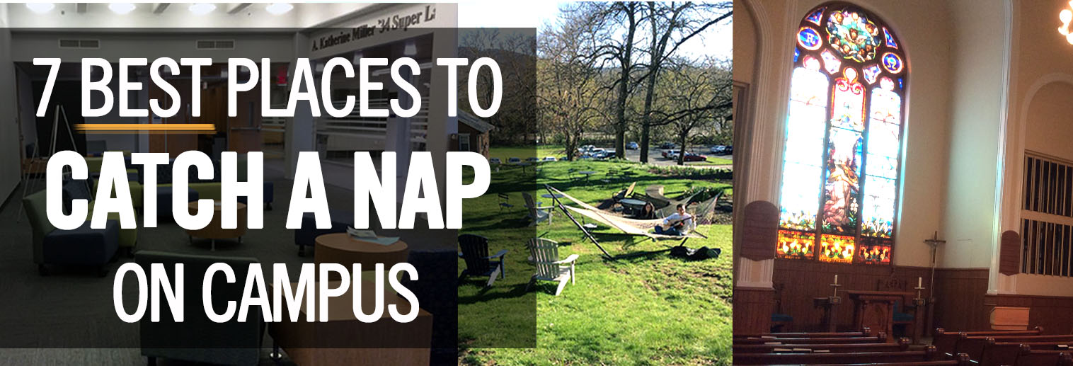 7 Best Places to Take a Nap at Moravian College