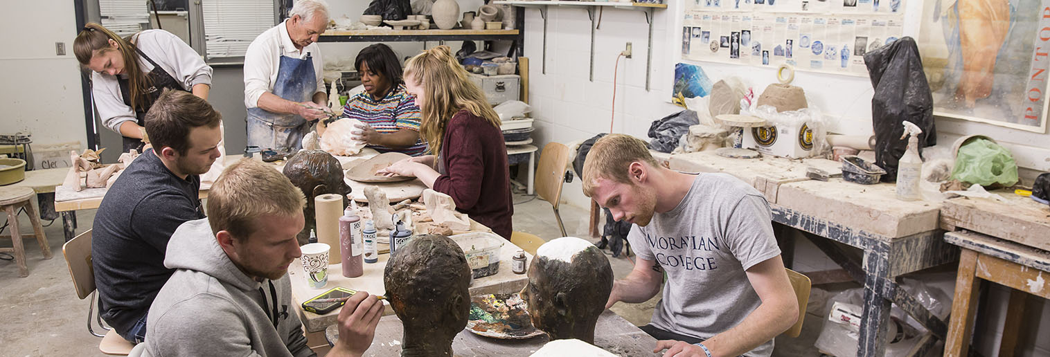 Programs of Study, ceramic students