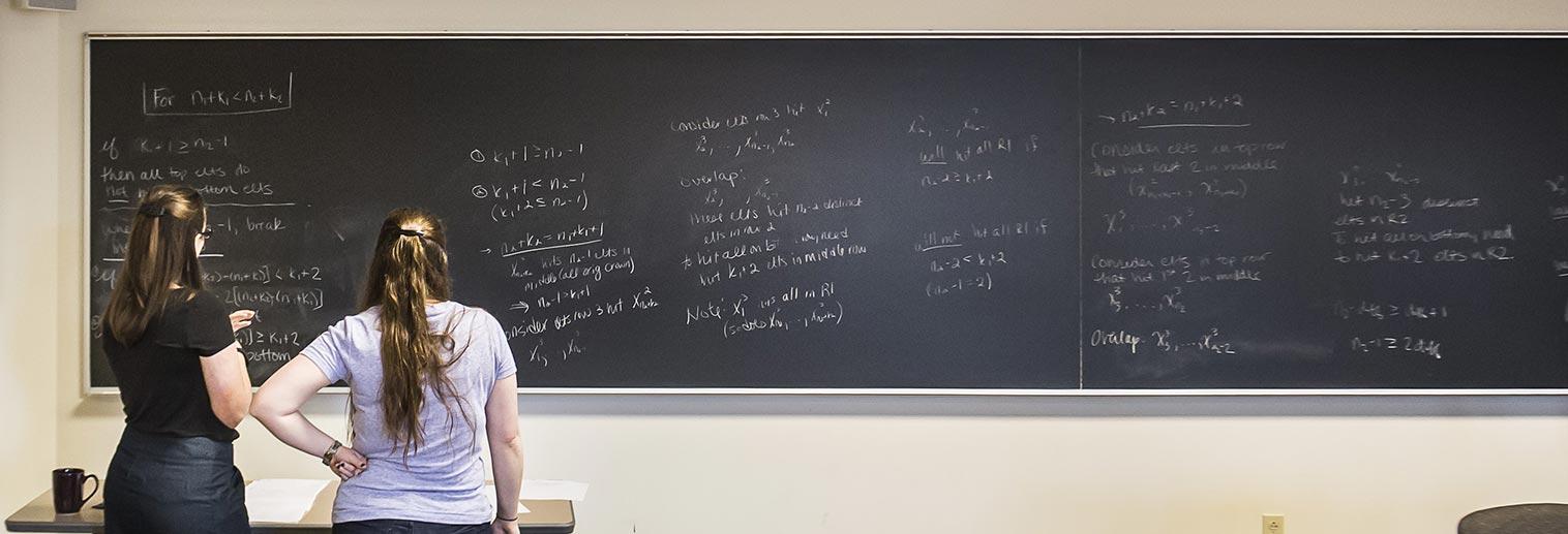 Prof. Talbott with student