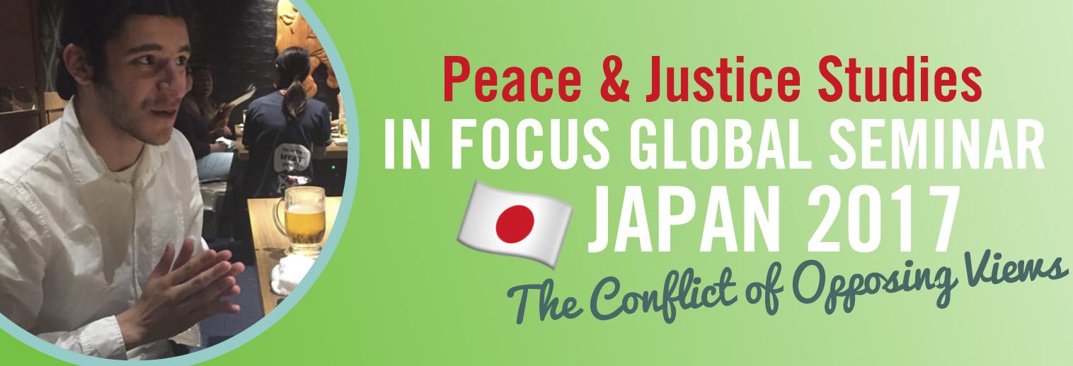 Japan Study Abroad Peace & Justice Studies