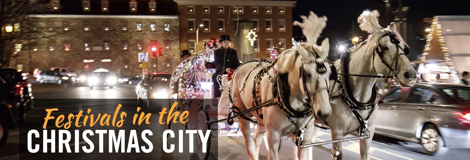 Christmas Festivals in Bethlehem, PA