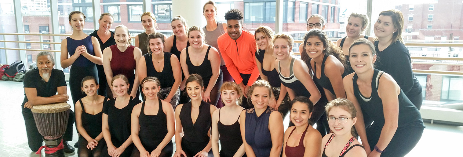 Dance Company and Alumni at Ailey School of Dance