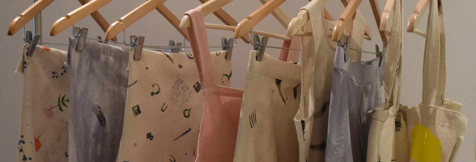Independent Study, Hybrid Textile Design work by Emese Jordan