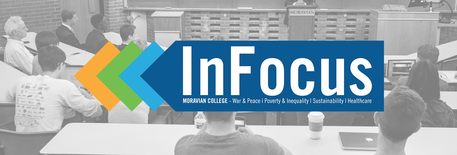 InFocus: War & Peace, Poverty & Inequality, Sustainability, Healthcare