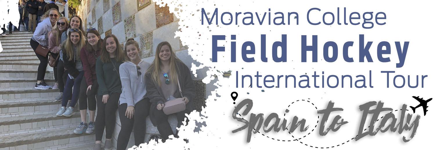 Moravian Field Hockey on Day 1 in Barcelona, Spain.