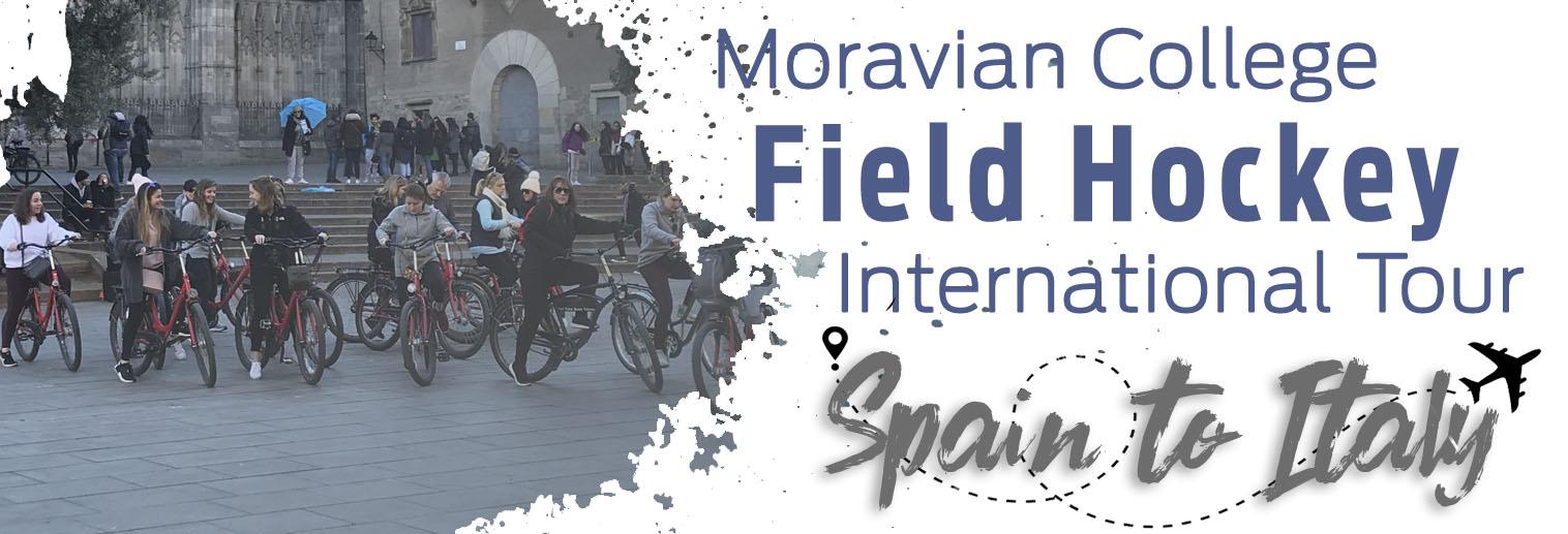 Moravian Field Hockey on Day 2 in Barcelona, Spain.