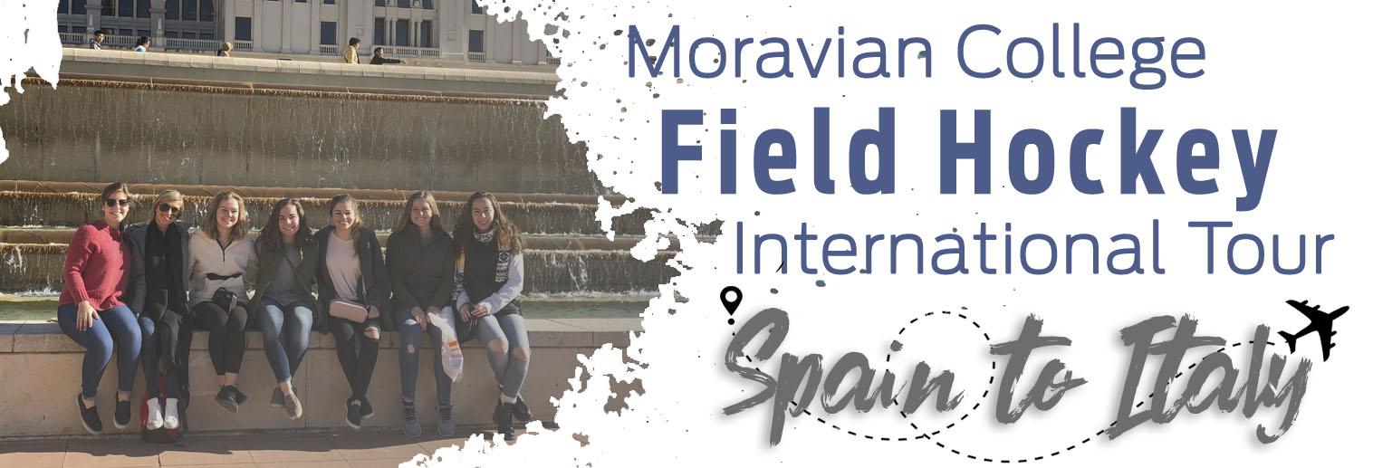 Moravian Field Hockey on Day 3 in Barcelona, Spain.