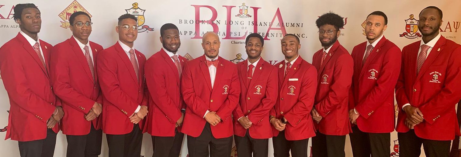 Kappa Alpha Psi group picture