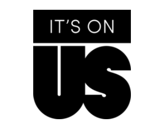 It's On Us Black Logo