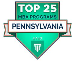 Top 25 MBA Programs in PA