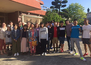 Ten students travel to Japan and explore Hiroshima, Nagasaki, Kyoto, and Osaka