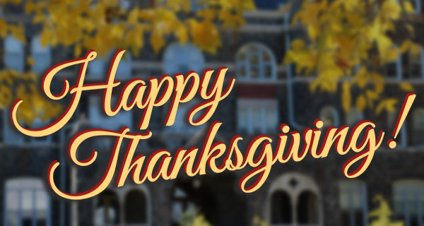 Happy Thanksgiving from Moravian College