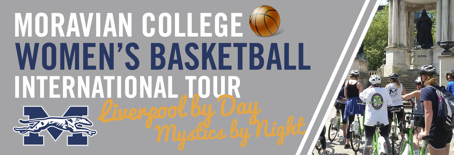 The Moravian College Women's Basketball Team has taken advantage of the NCCA rule that allows teams to travel every three years to play games overseas. On May 23, 2017, they departed to London, England, to experience what culture, and basketball, was like over in the U.K.