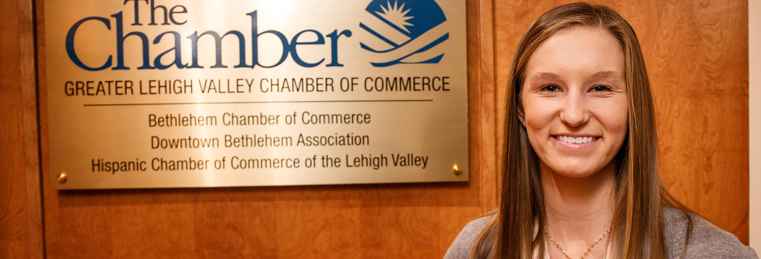 Moravian University Internship Spotlight: Lauren Bertucci '18 at Bethlehem Chamber of Commerce/Downtown Bethlehem Association