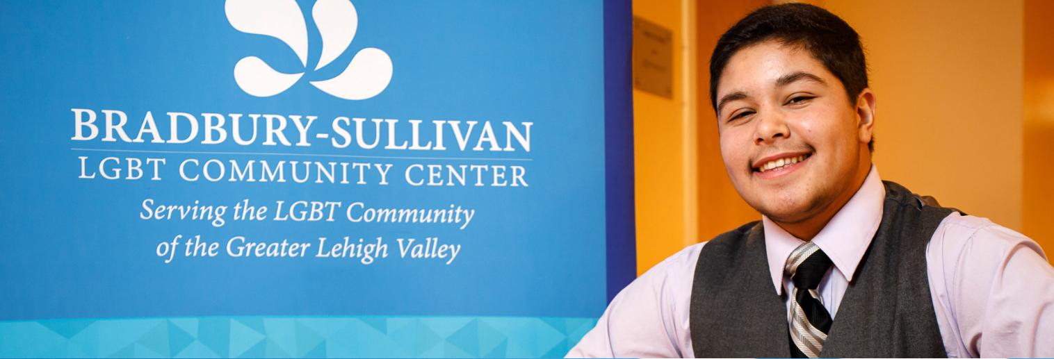 Moravian University Internship Spotlight: Miles Molerio '20 at Bradbury-Sullivan LGBT Community Center