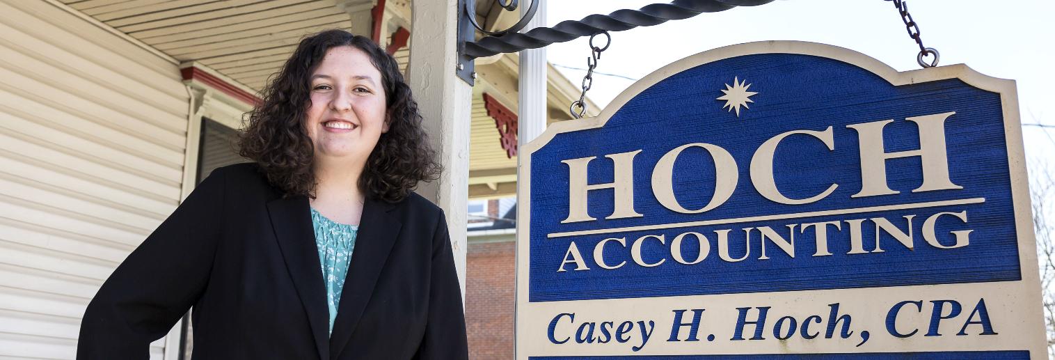 Moravian University Internship Spotlight: Kate Polles '17 at Hoch Accounting