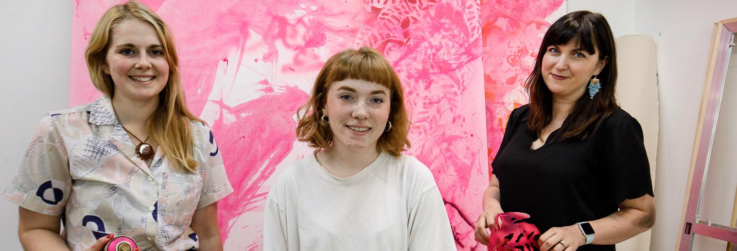 SOAR 2018 Erika Salus '19 and Jillian McLuhan '20