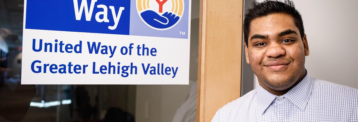 Moravian College Internship Spotlight: Justin Vatti '20 at United Way of the Greater Lehigh Valley