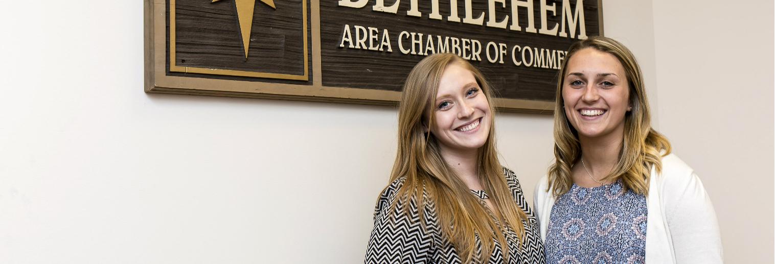 Moravian University Internship Spotlight: Melissa Pavia '16 at the Greater Lehigh Valley Chamber of Commerce