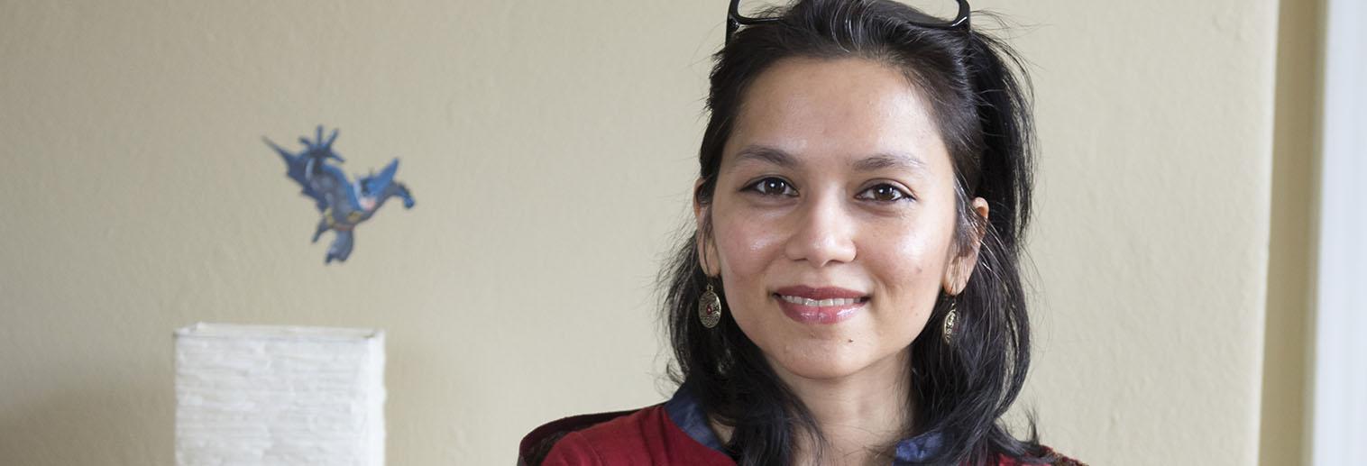 Sonia Aziz, Associate Professor of Economics, Gives Faculty Luncheon: Economics of Poverty