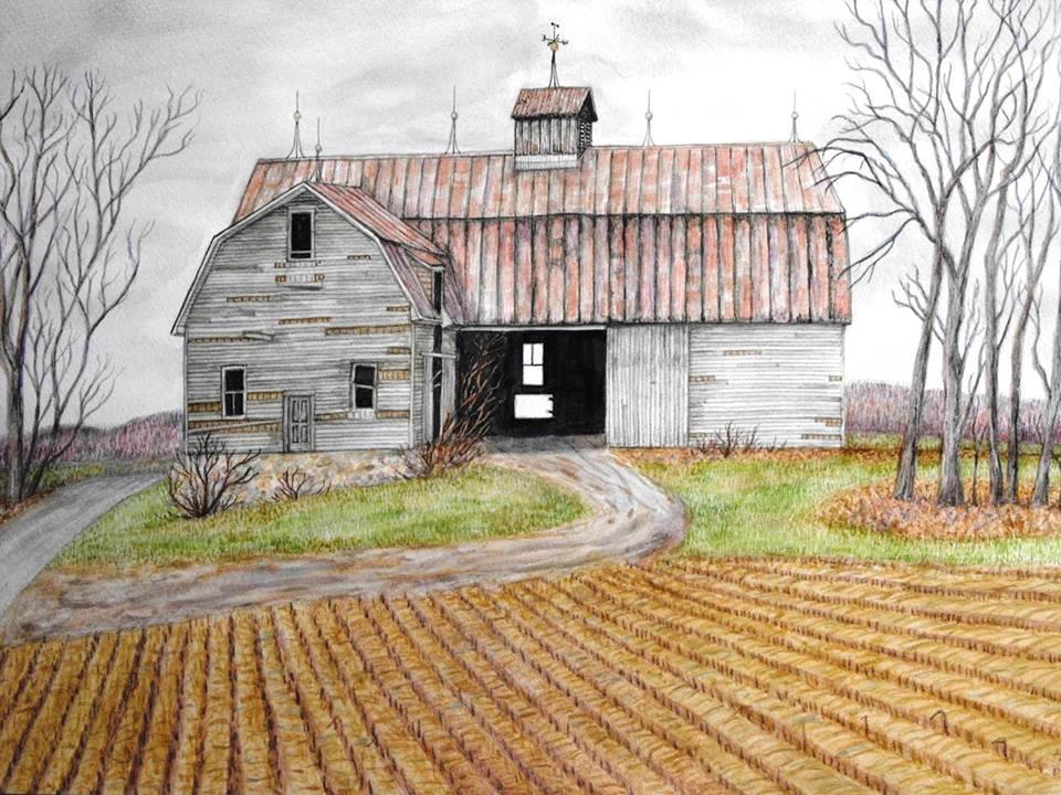 Abandoned Barn, Durham Road