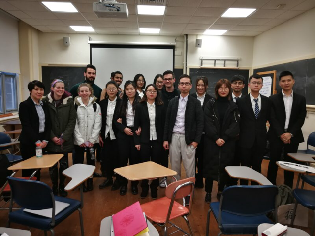BEIJING INSTITUTE OF PETROCHEMICAL TECHNOLOGY VISITORS