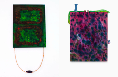 Diptych: The Garden and Snake Catcher