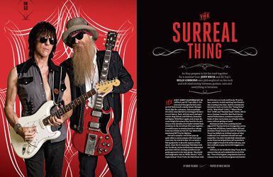 Guitar World Magazine Feature Article, 2015, Editorial Design