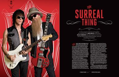 Guitar World Magazine Feature Article