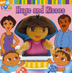 "Nick Jr. Books Dora the Explorer, ""Hugs and Kisses,"" 2006, Publishing Design"