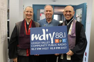 Buddhist Monk Claude AnShin and Nun KenShin on LV Discourse