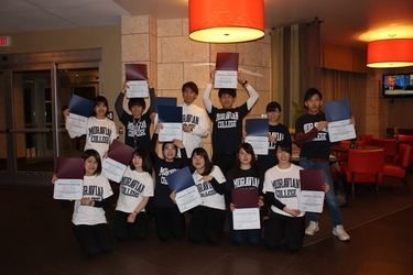 Students from Ohtani and Nagasaki Universities visiting Moravian College and Washington DC in March 2018